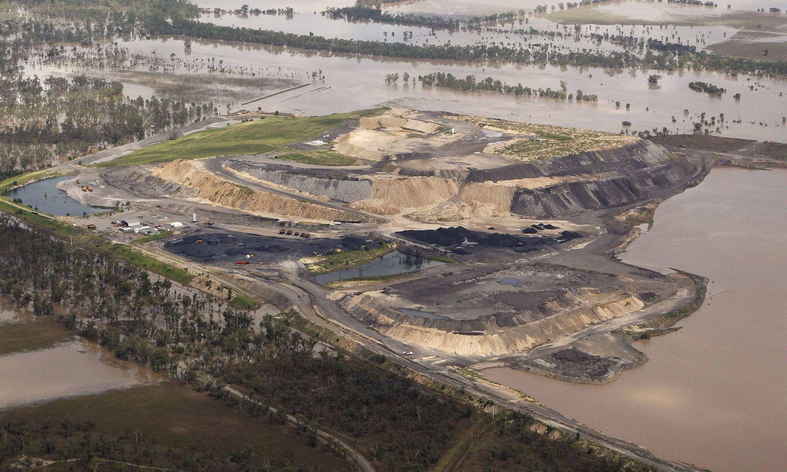 Kohlemine Queensland