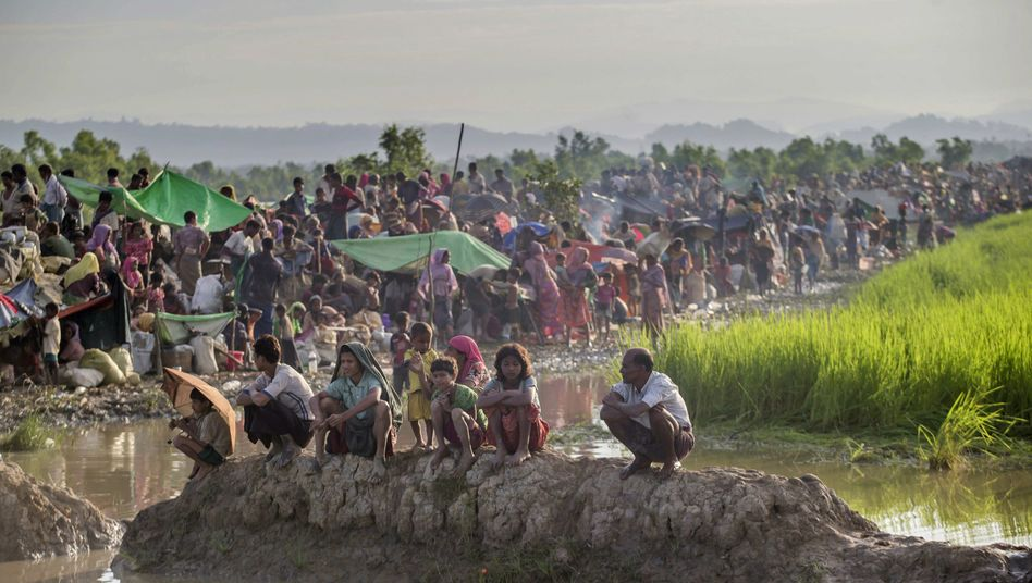 Geflohene Rohingya in Bangladesch
