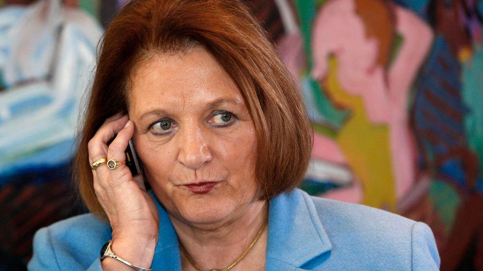 """Justizministerin Sabine Leutheusser-Schnarrenberger: """"Kein Anlass, die Spende zurückzuzahlen"""""""