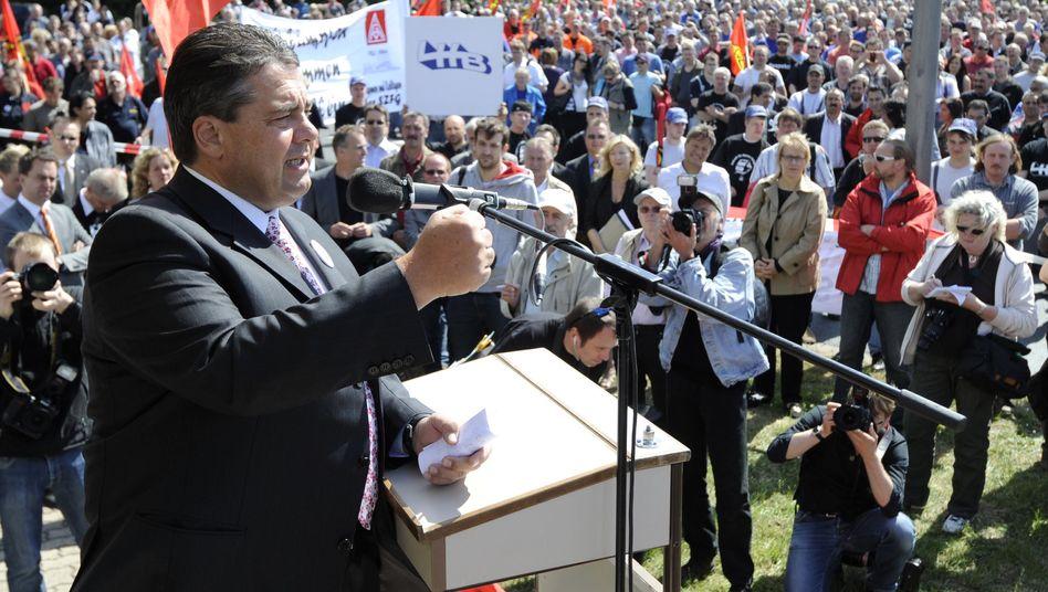 SPD-Chef Gabriel: Fenster aufmachen, Partei durchlüften