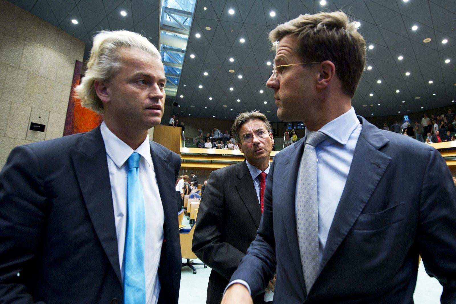 Sondersitzung des niederländischen Parlaments