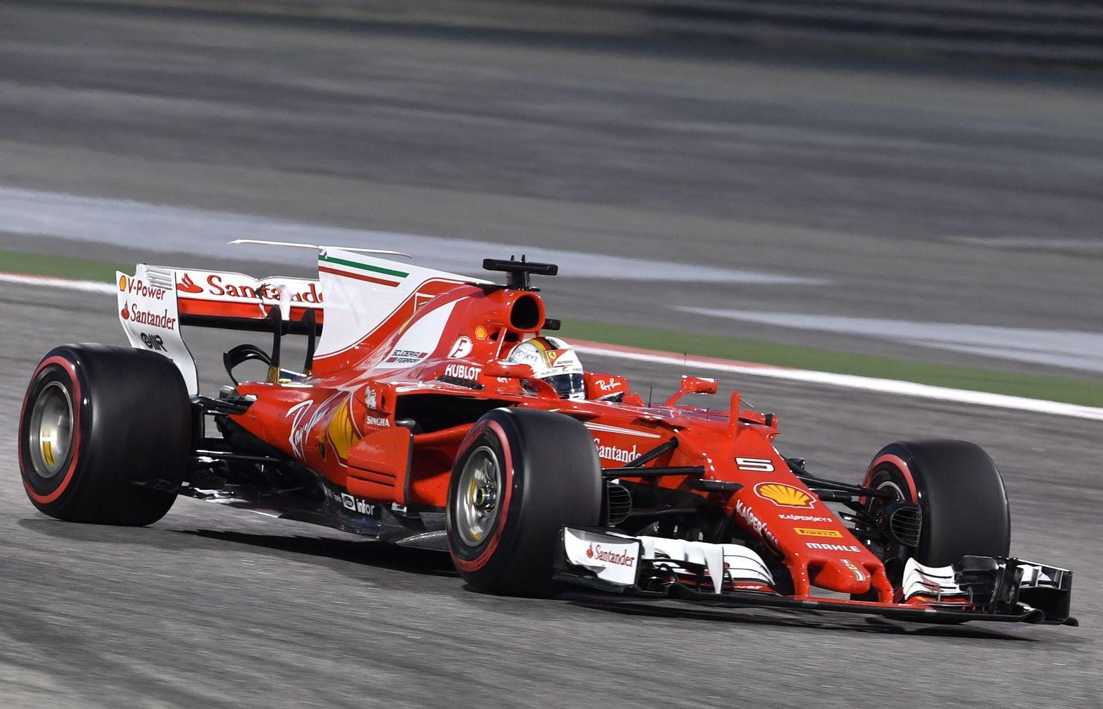 Bahrain Ferrari Vettel