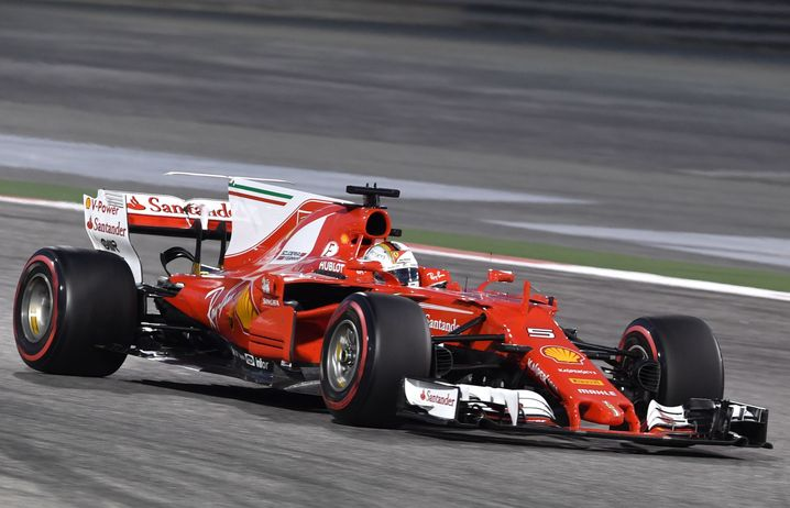 Der viel diskutierte Unterboden des Ferrari