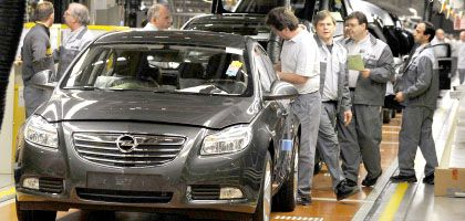 """Opel-Arbeiter in Rüsselsheim: """"Perspektive in der Herauslösung"""""""
