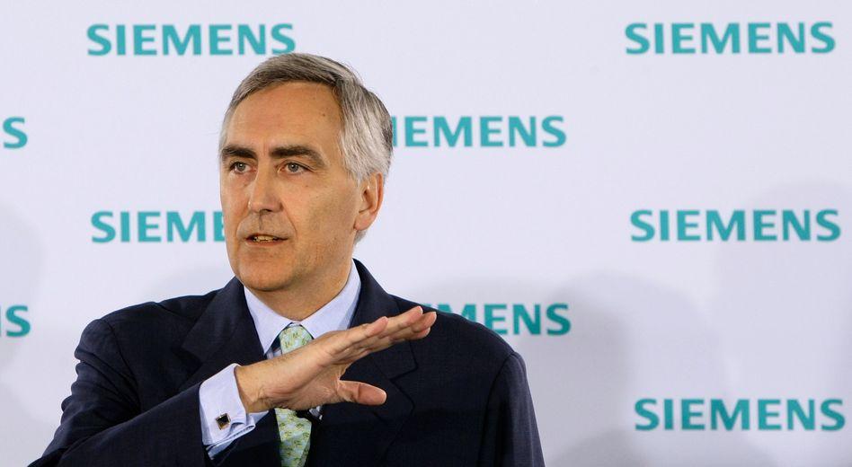 Siemens-Chef Löscher: Stellenabbau trotz steigender Gewinne