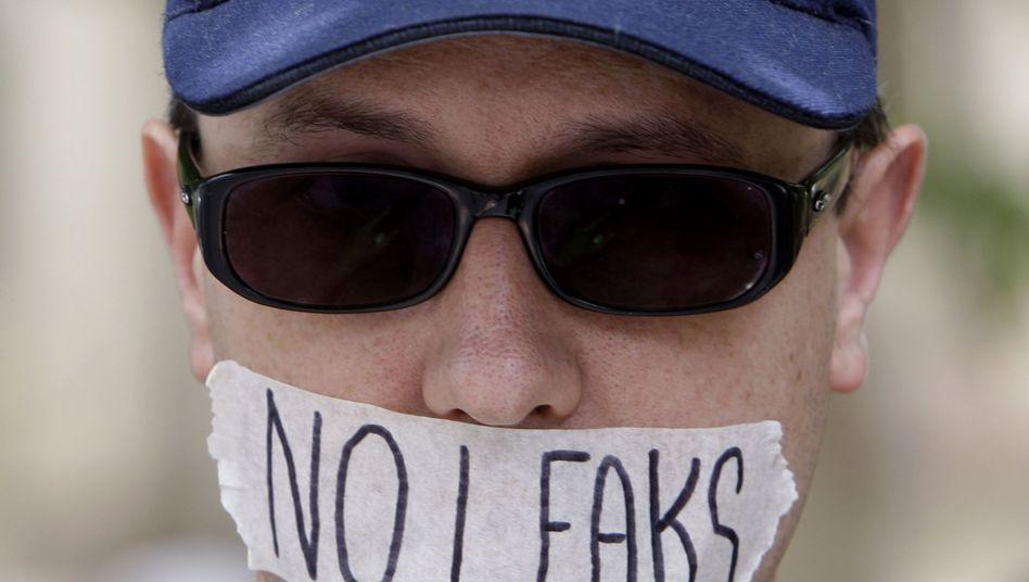 Pro-WikiLeaks-Demonstrant: Meinungsfreiheit in Gefahr?
