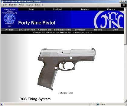 """Pistole von FN Manufacturing: """"Viele Menschenleben könnten gerettet werden"""""""