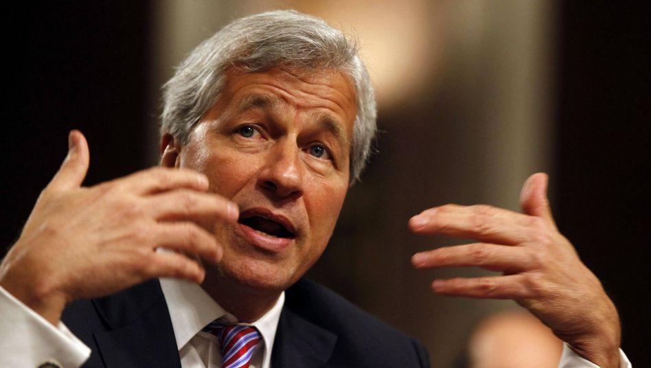 JP-Morgan-Chef Jamie Dimon: Klage könnte bald eingereicht werden