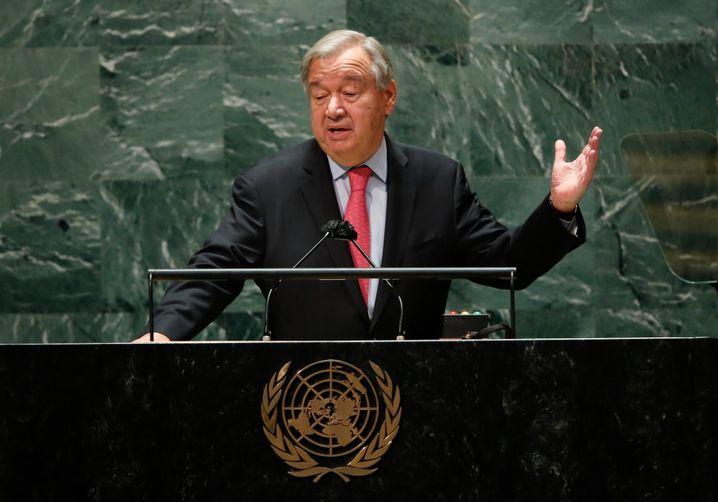 Uno-Generalsekretär António Guterres: »In Ethik sind wir durchgefallen«