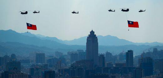 Taiwan beklagt täglich wachsende Bedrohung durch China
