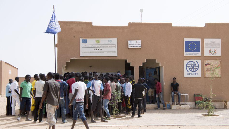 Internationale Organisation für Migration in Agadez, Nigeria
