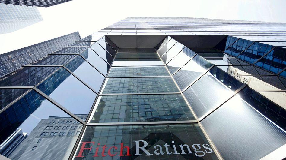 Fitch-Zentrale in New York: Wichtiger und positiver Schritt in Richtung Finanzstabilität