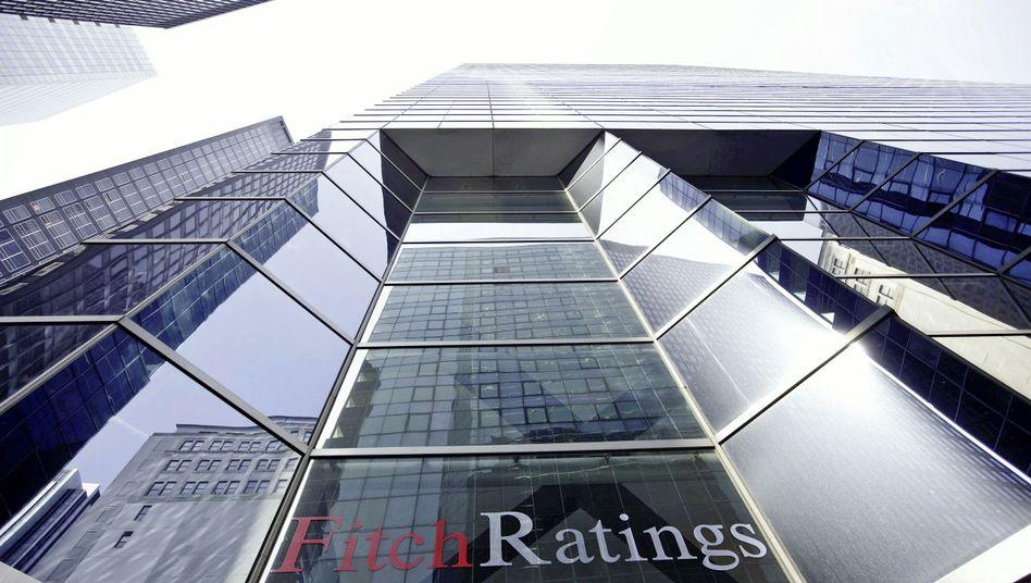 Fitch-Zentrale in New York: Bisher hatte die Agentur Griechenland noch relativ gut bewertet