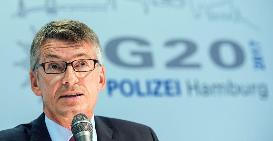 Hamburger Polizeipräsident Meyer