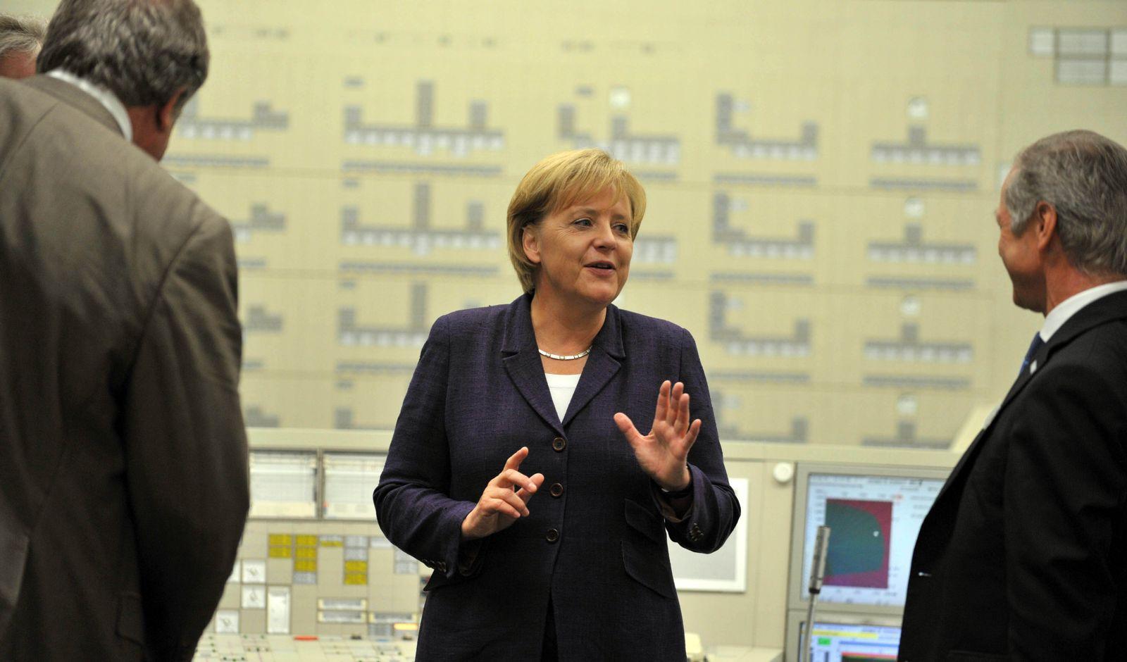 """Merkel """"Energie-Reise"""" AKW Lingen"""