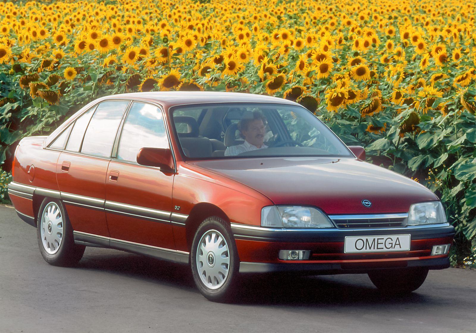Opel Omega GLT, 1992