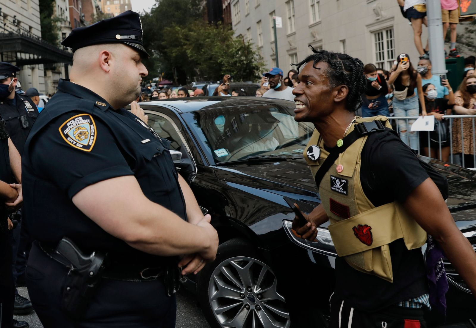 Black Lives Matter Protest Met Gala