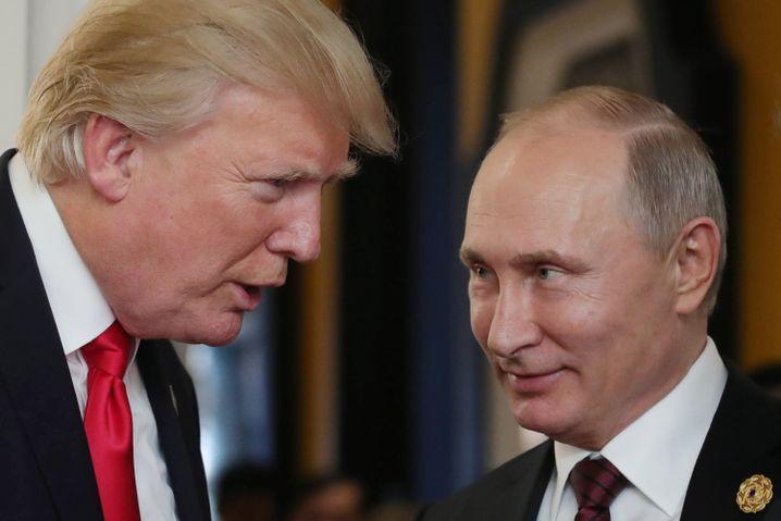 Trump und Putin (November 2017 in Vietnam)