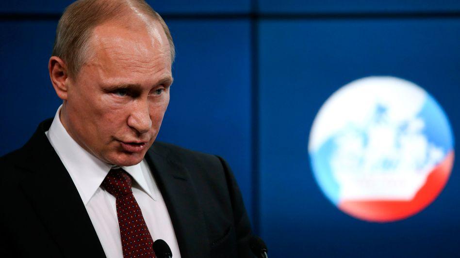 """Russlands Präsident Putin: """"In eine Sackgasse"""""""