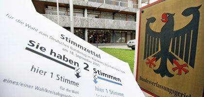 """Wahlzettel, Verfassungsgericht: """"Willkürliche Ergebnisse"""""""