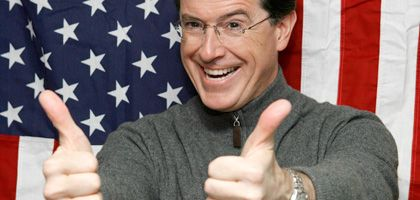 Komiker Colbert: Hardcore-Patriot auf dem Weg ins All