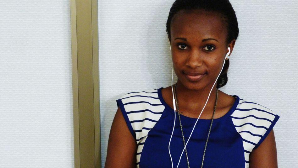 Villan Alex: Die 26-Jährige entwickelt eine App, die Frauen auf dem Land über gesunde Ernährung und Schwangerschaft informieren soll