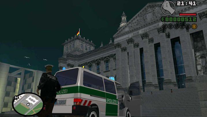 """Mod für """"San Andreas"""": Zum Durchklicken: Das Fanprojekt """"GTA: Berlin"""""""