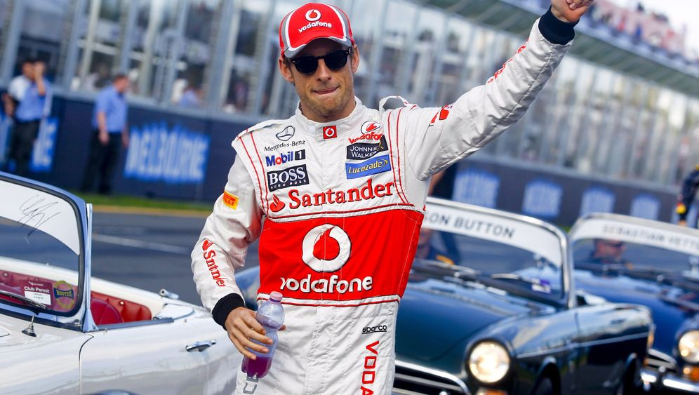 Grand Prix in Australien: Buttons Triumph im Albert Park