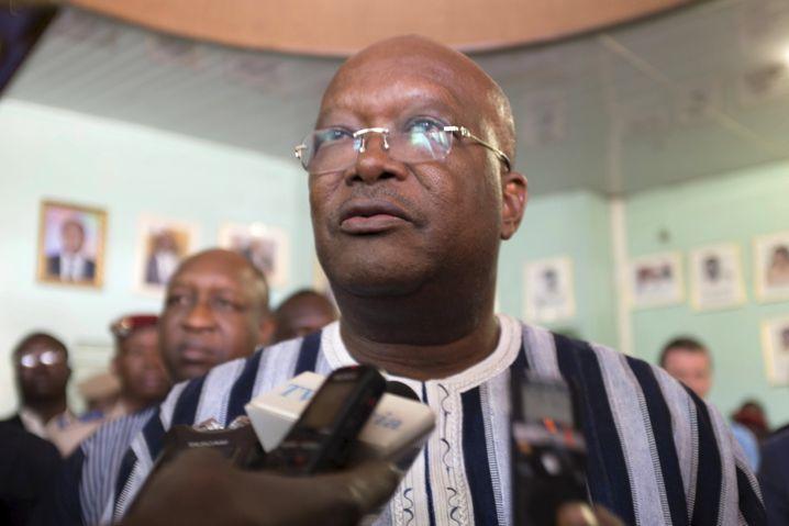 Präsident Kaboré: Unterstützung aus dem Ausland