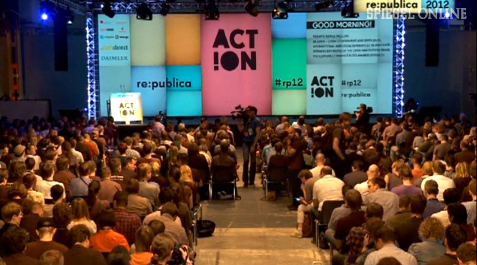 Screenshot re:publica 2012 Videograb