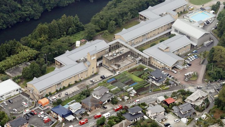 Japan: Einsatz in Sagamihara