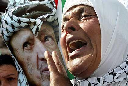 Nach Arafats Tod: Emotionen und grenzenlose Trauer