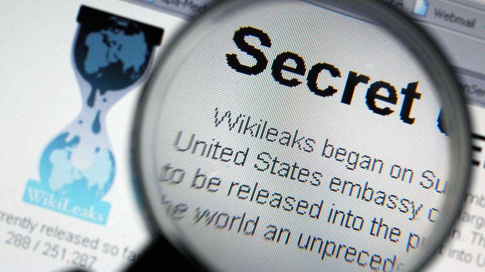 WikiLeaks-Seite im Web: Daten wurden Assanges Zugriff entzogen