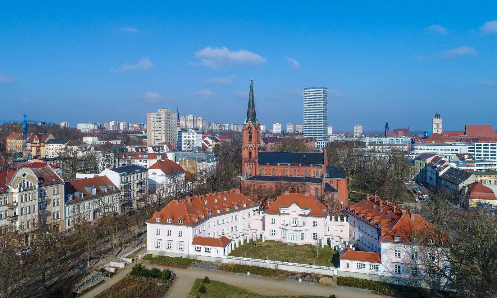 Stadtansicht Frankfurt (Oder)
