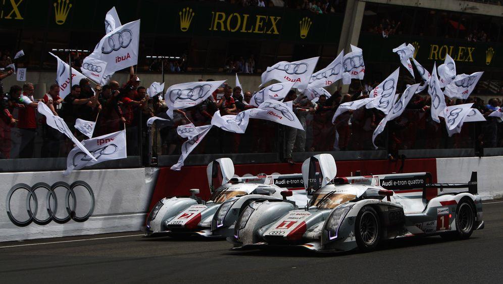 24 Stunden von Le Mans: Hybrid-Audis überstehen den Härtetest