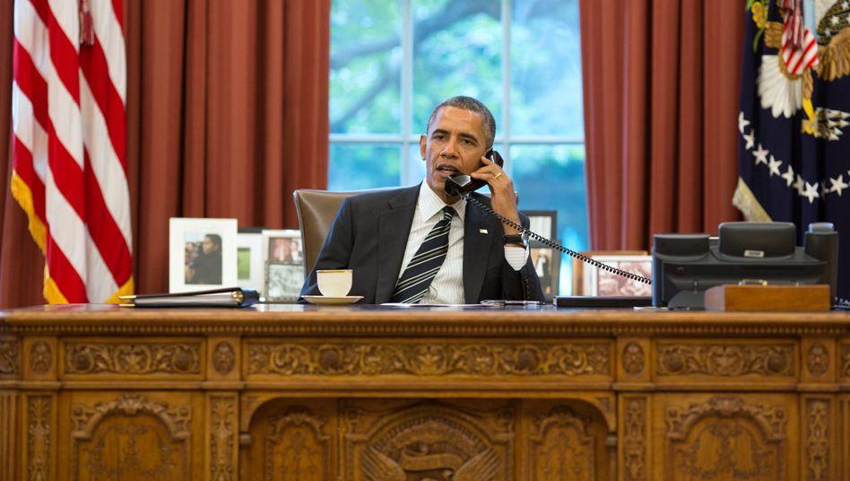 US-Präsident Barack Obama: Neue Sanktionen gegen Russland