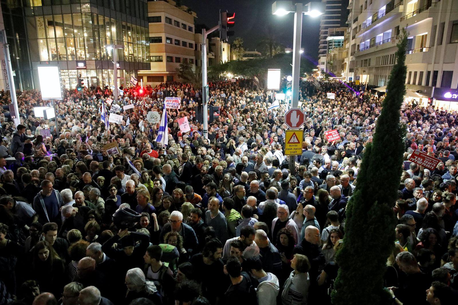 ISRAEL-NETANYAHU/PROTESTS