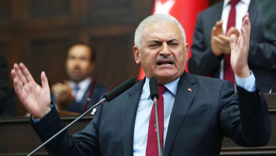 Türkischer Ministerpräsident Binali Yildirim (Archiv)