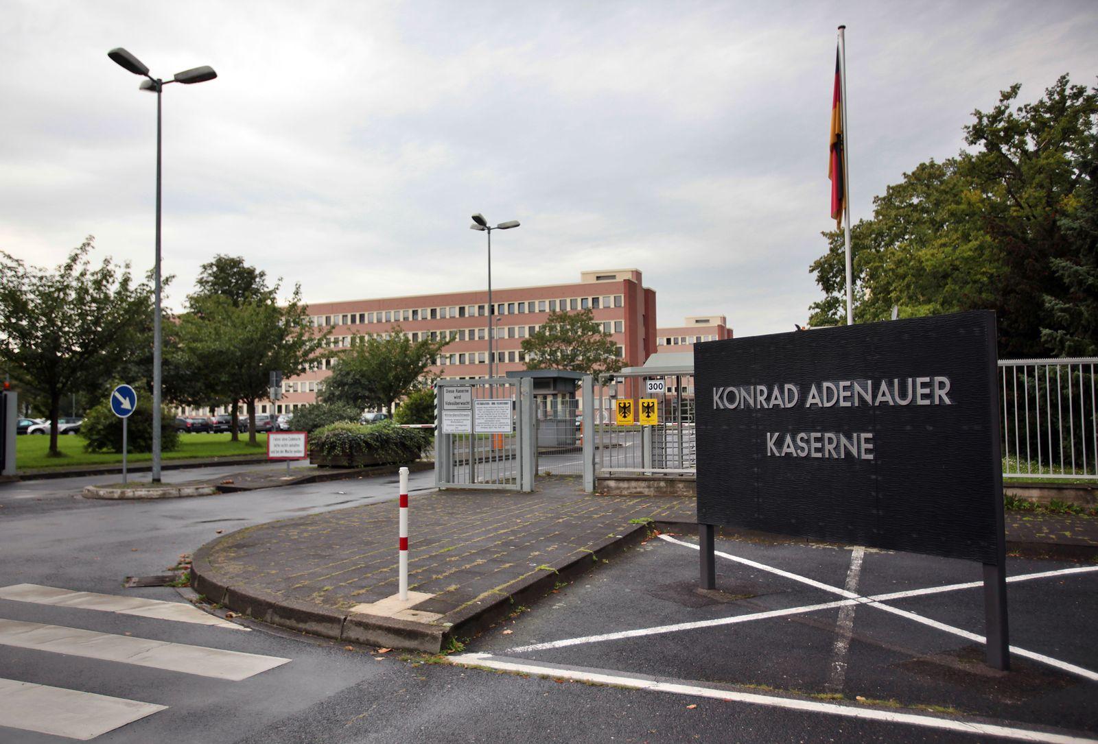 Konrad Adenauer Kaserne Köln / MAD
