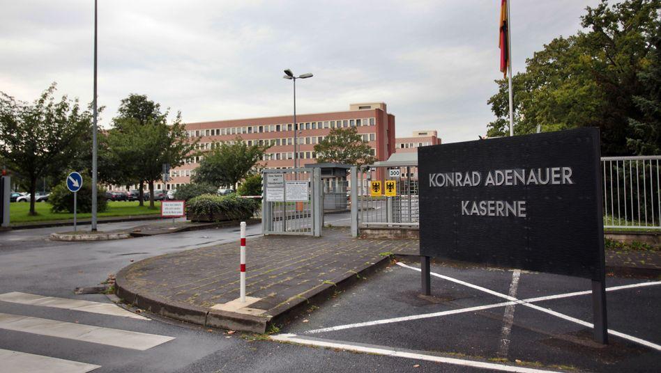 Konrad-Adenauer-Kaserne in Köln: Hier sitzt der Militärische Abschirmdienst (MAD)