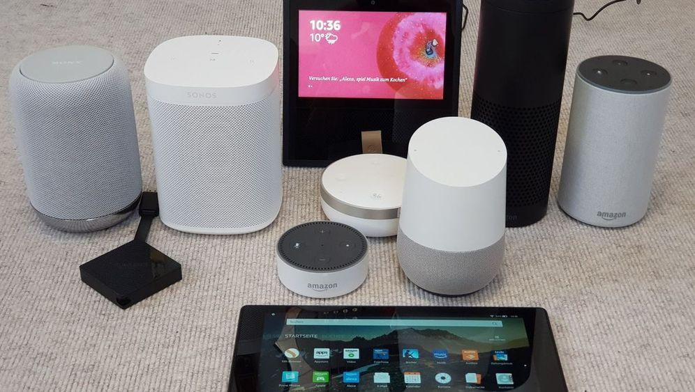 Smarte Lautsprecher im Test: Gadgets mit Alexa und Google Assistant im Vergleich