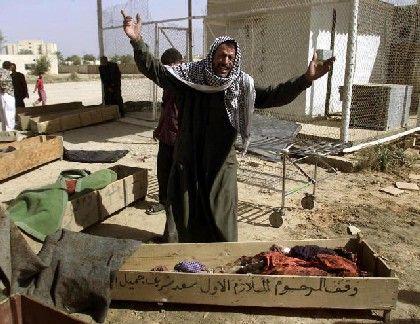 Hilla: Ein verzweifelter Vater schreit den Schmerz über den Tod seiner Kinder heraus