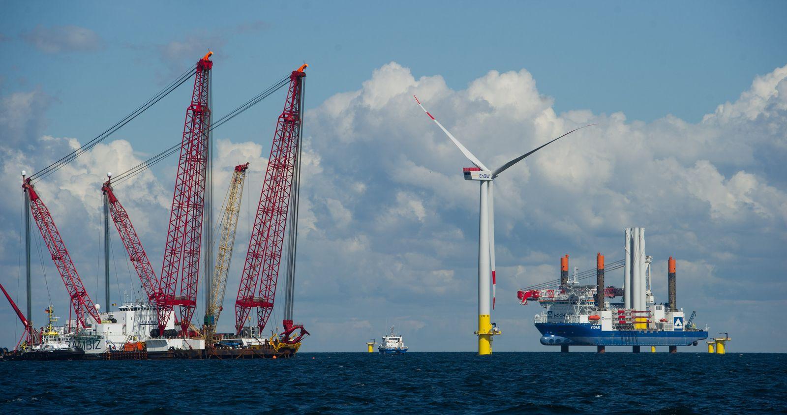 Ostsee-Windpark EnBW Baltic 2