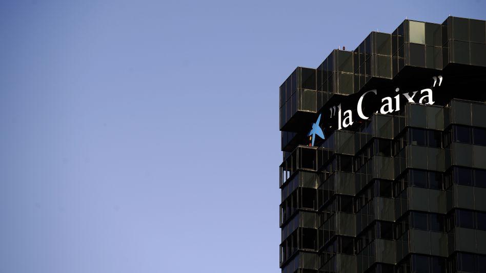 Caixa-Zentrale in Barcelona: Mindestens 40 Milliarden Euro für spanische Banken