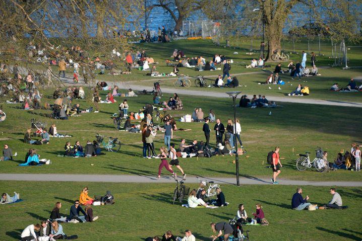 Park in Stockholm: »Ein Teil der Bürger könnte erst nachmittags ins Büro gehen«