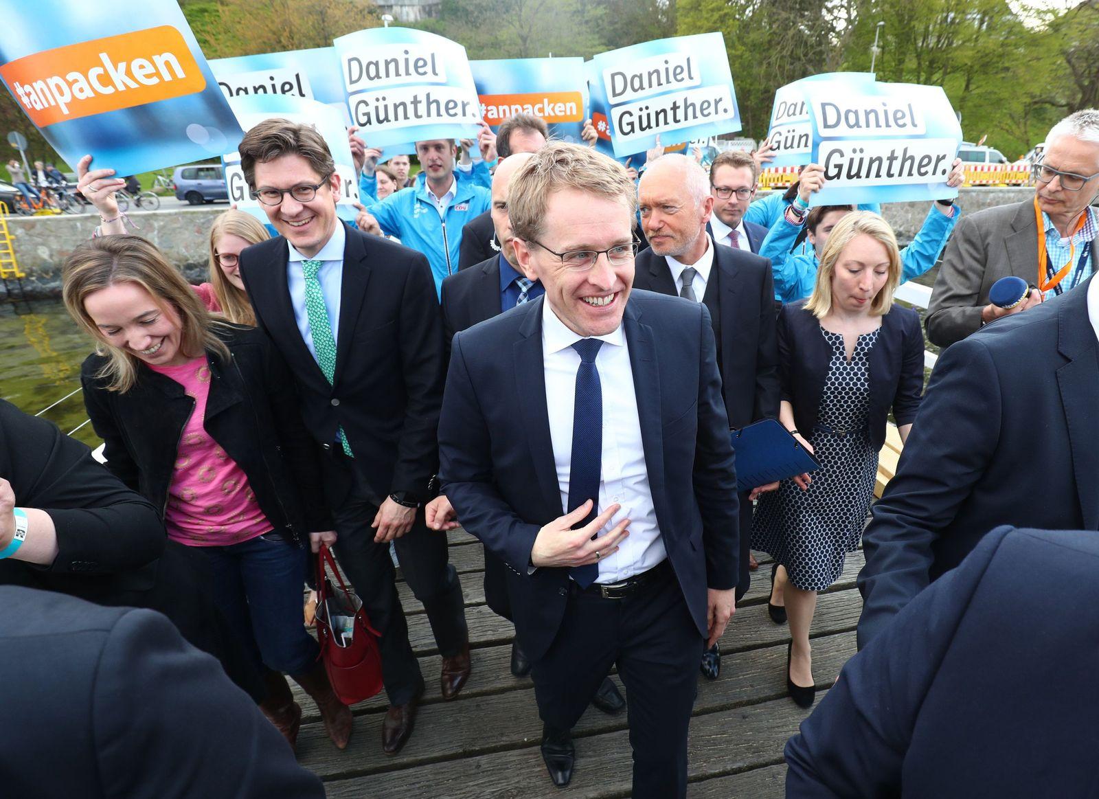 Schleswig-Holstein/ Landtagswahl/ CDU / Günther