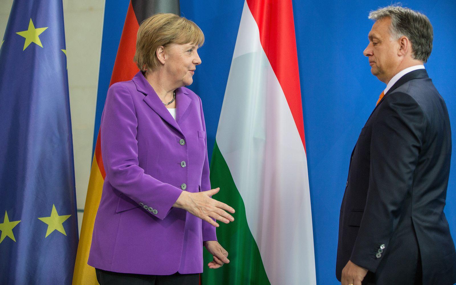 Merkel reist nach Ungarn