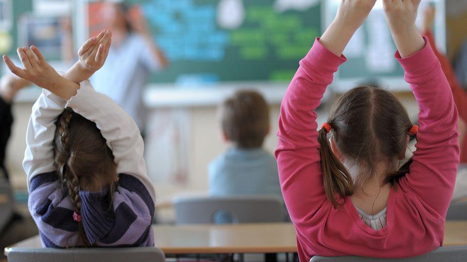 Bayerische Grundschüler (Archiv): Am meisten gestresst mit einem Notendurchschnitt von 2,6