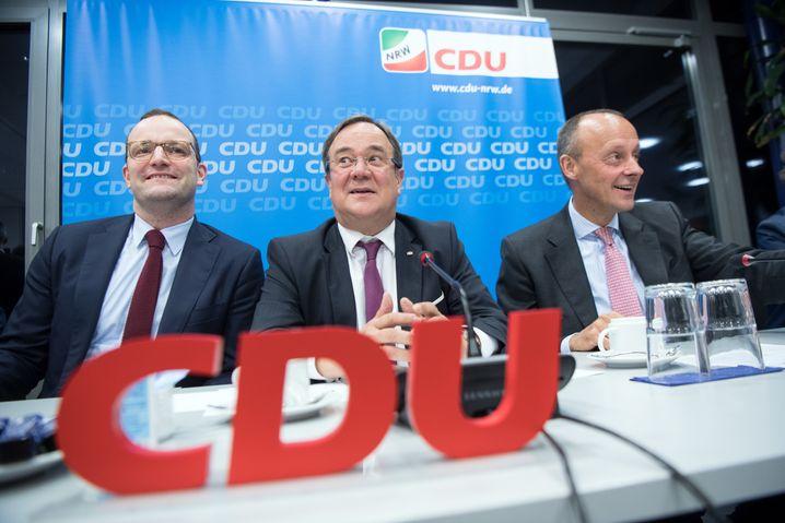 Die Lage am Abend: Der Dreikampf um die CDU ist offiziell eröffnet