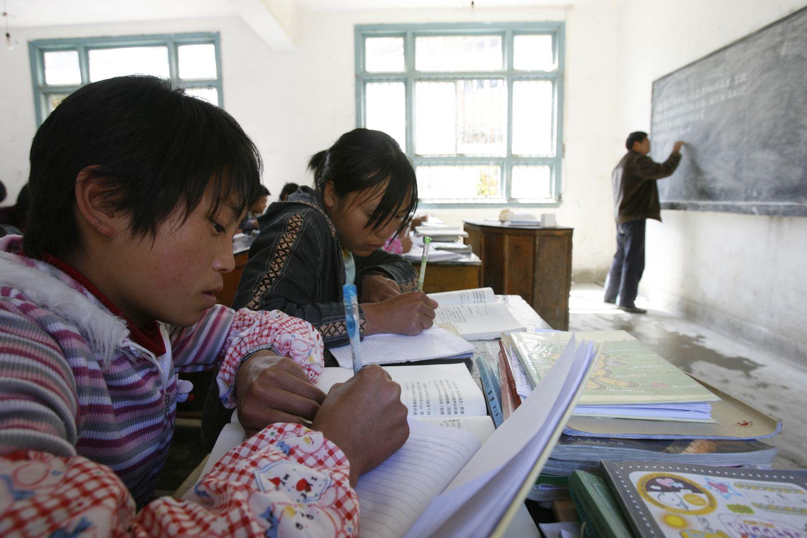 China / Schüler / Schule / Symbolbild